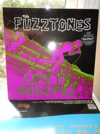 Fuzztones - Live In Europe Ltd Ed Vinyl with Flexi