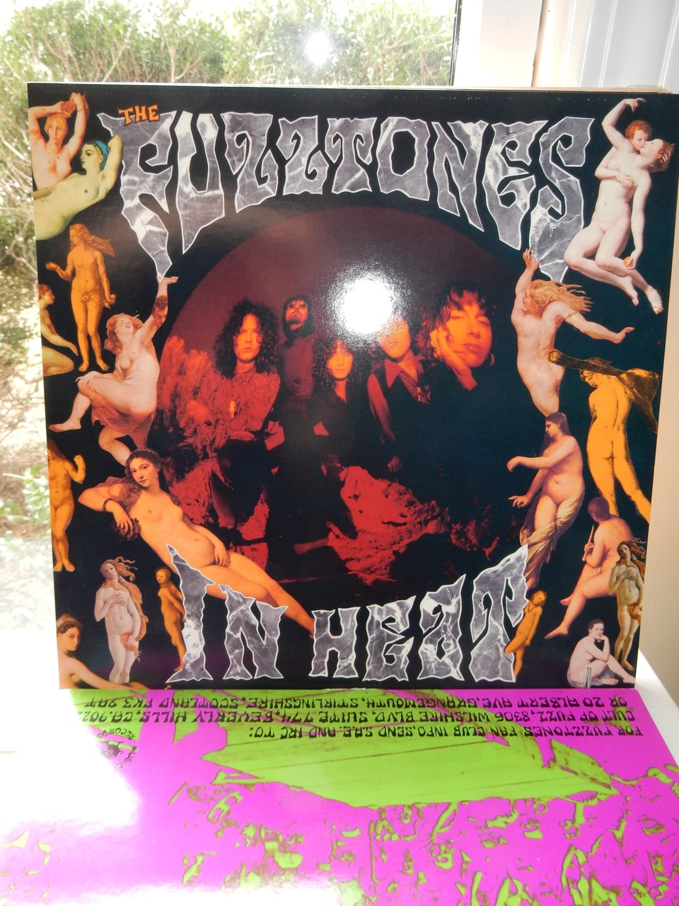 Fuzztones – In Heat - Vinyl 1989 with Extras