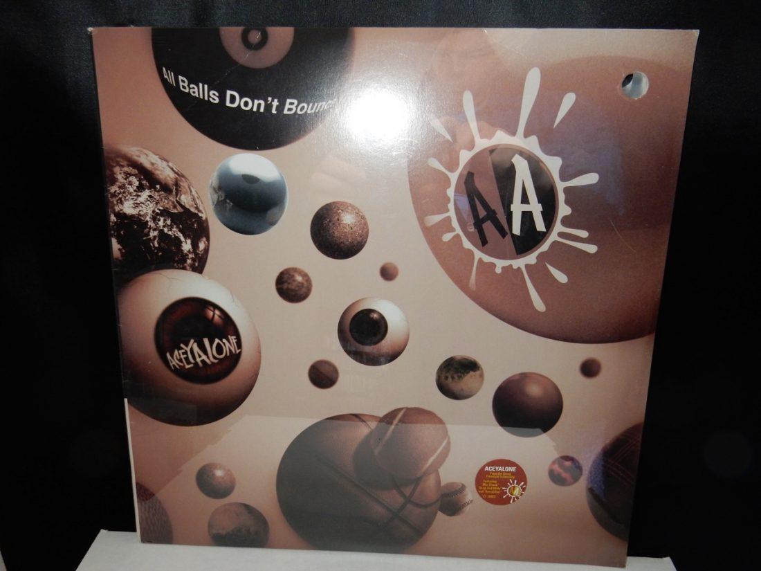 "Aceyalone ""All Balls Don't Bounce"" Vinyl 2xLP"