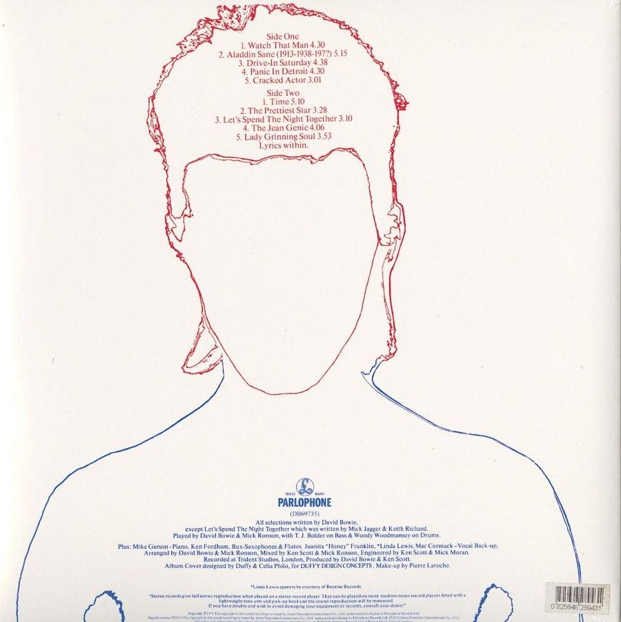David Bowie - Aladdin Sane -180 Gram, Vinyl, LP, Reissue, Remastered, Rhino, 2016