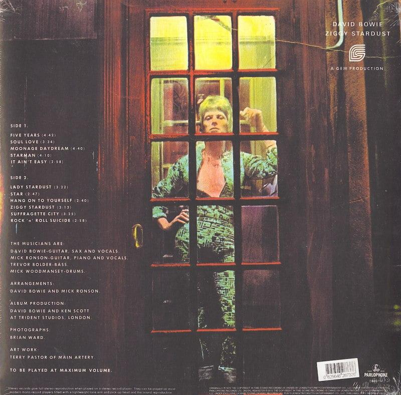 David Bowie - Rise & Fall of Ziggy Stardust & Spiders from Mars - 180 Gram, Vinyl, LP, Reissue, 2016