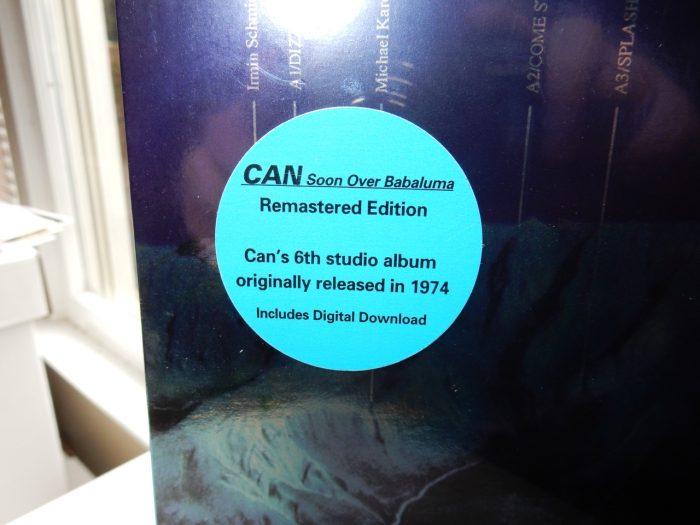 """Can """"Soon Over Babaluma"""" Vinyl LP Reissue"""
