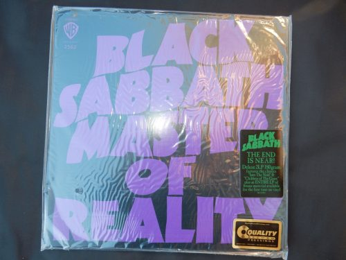 "Black Sabbath ""Master Of Reality"" 180 Gram 2XLP Reissue"
