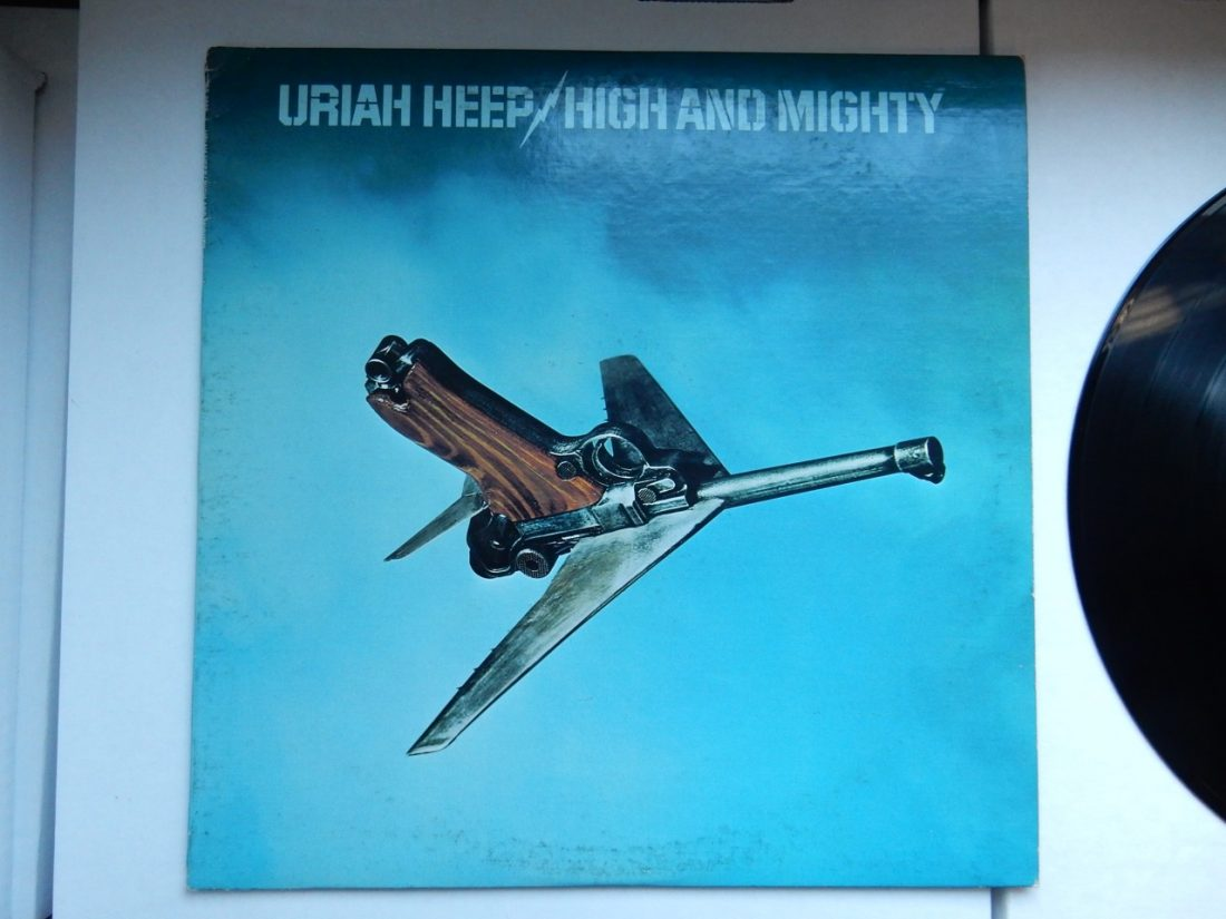 "Uriah Heep ‎""High And Mighty"" Vinyl LP 1976"