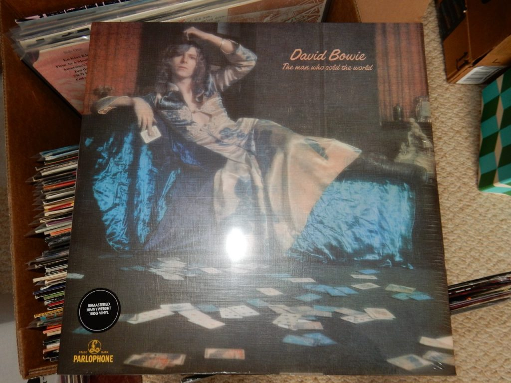 "David Bowie ""The Man Who Sold the World"" 180 Gram Vinyl"