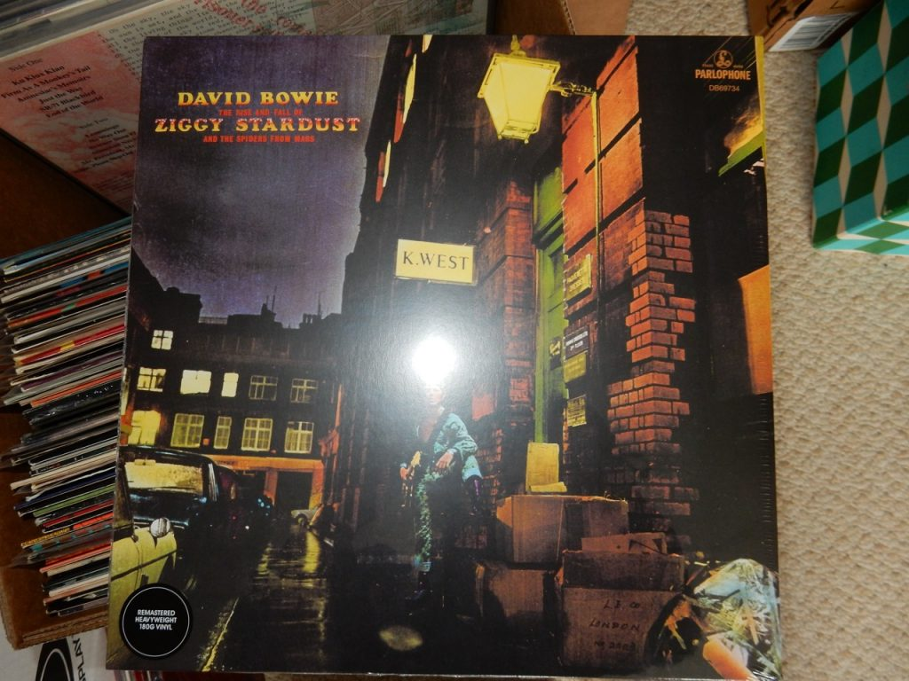 "David Bowie ""Rise & Fall of Ziggy Stardust & Spiders from Mars"" 180 Gram Vinyl LP"