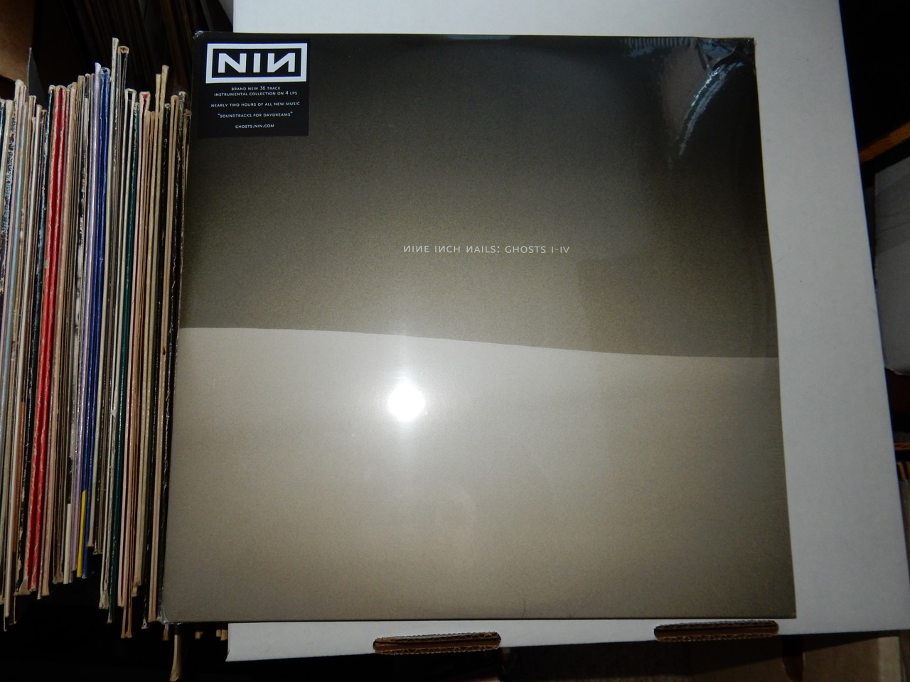 Nine Inch Nails – Ghosts I-IV on Vinyl 4XLP 2008 New Sealed – Buy ...