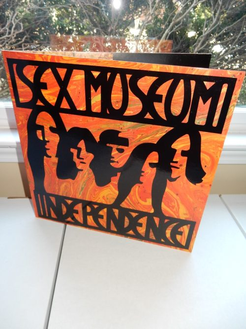 "Sex Museum ""Independence"" Vinyl LP Gatefold Sleeve 1989"