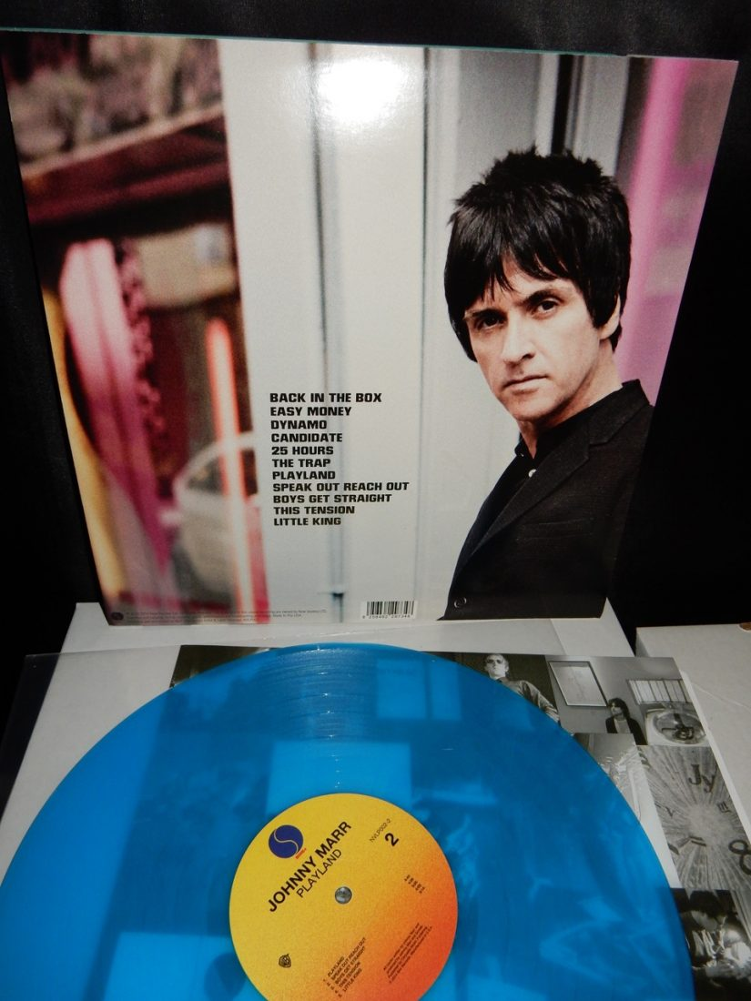 Johnny Marr - The Smiths - Blue Vinyl