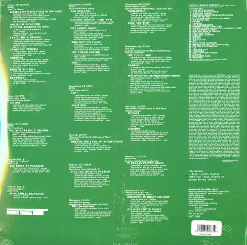 Minutemen - Ballot Result - 2XLP, Green, Colored Vinyl, Reissue, SST Records, 1990