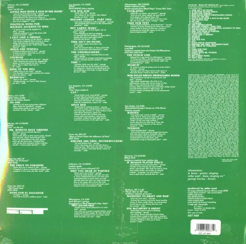 Minutemen - Ballot Result - 2XLP, Green, Colored Vinyl, Reissue, SST Records, 1990