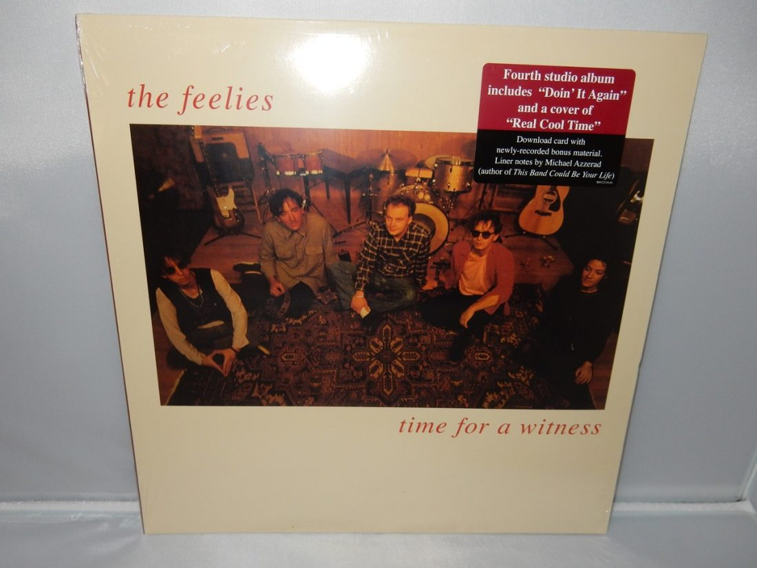 "Feelies ""Time For A Witness"" Vinyl LP Reissue NEW"