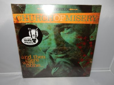 "Church Of Misery ""And Then There Were None"" Red and Black Colored Vinyl Gatefold NEW"