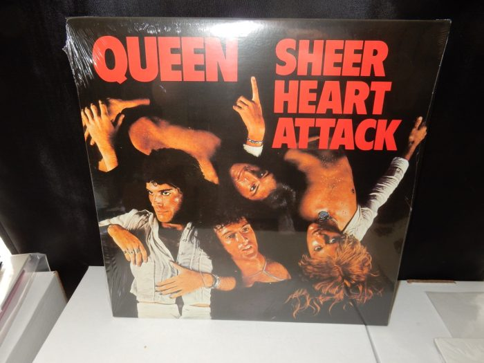 "Queen ""Sheer Heart Attack"" Vinyl LP Remastered Reissue 2008 NEW"