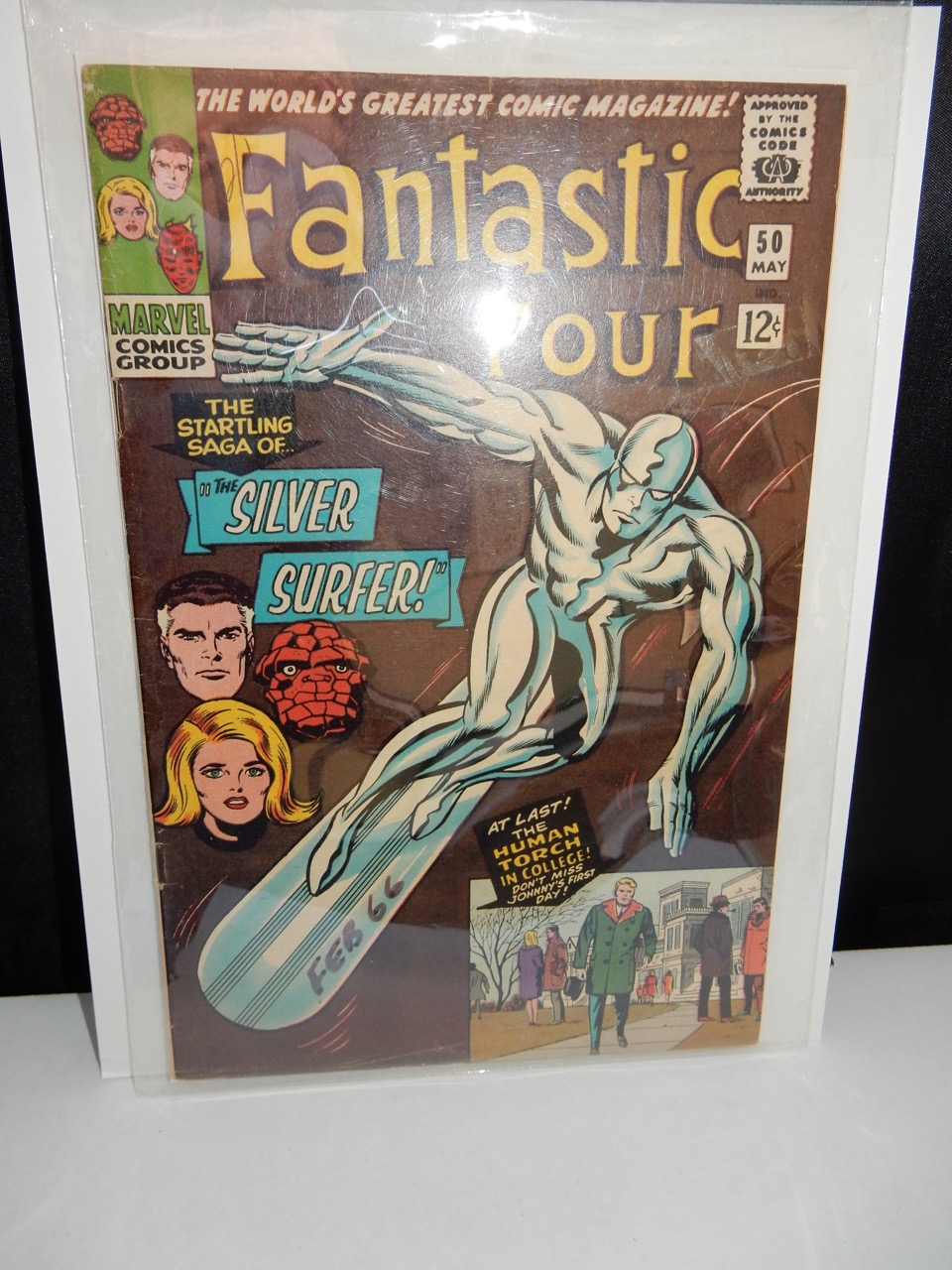 Fantastic Four #50 with Silver Surfer