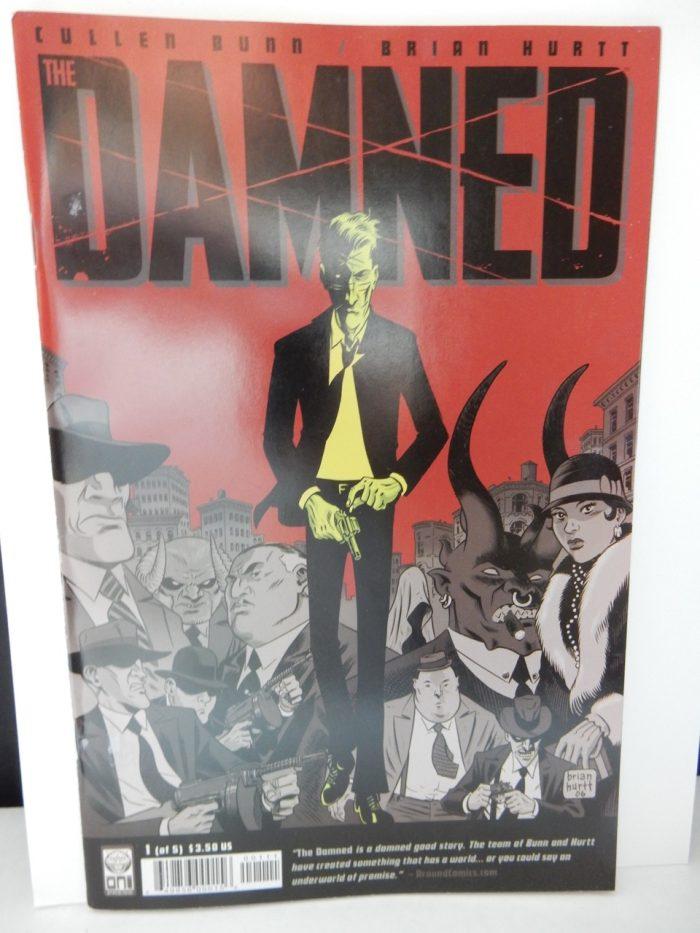 The Damned #1 Comic Oni Press 2006 Cullen Bunn Brian Hurtt 1st Print First Print