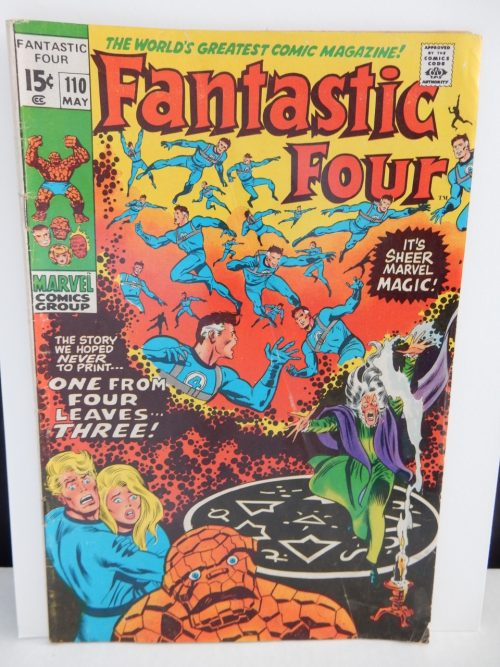 Fantastic Four #110 from May 1971