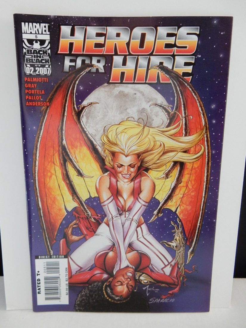 Heroes For Hire #5 Bill Tucci, Mark Sparacio Cover Art