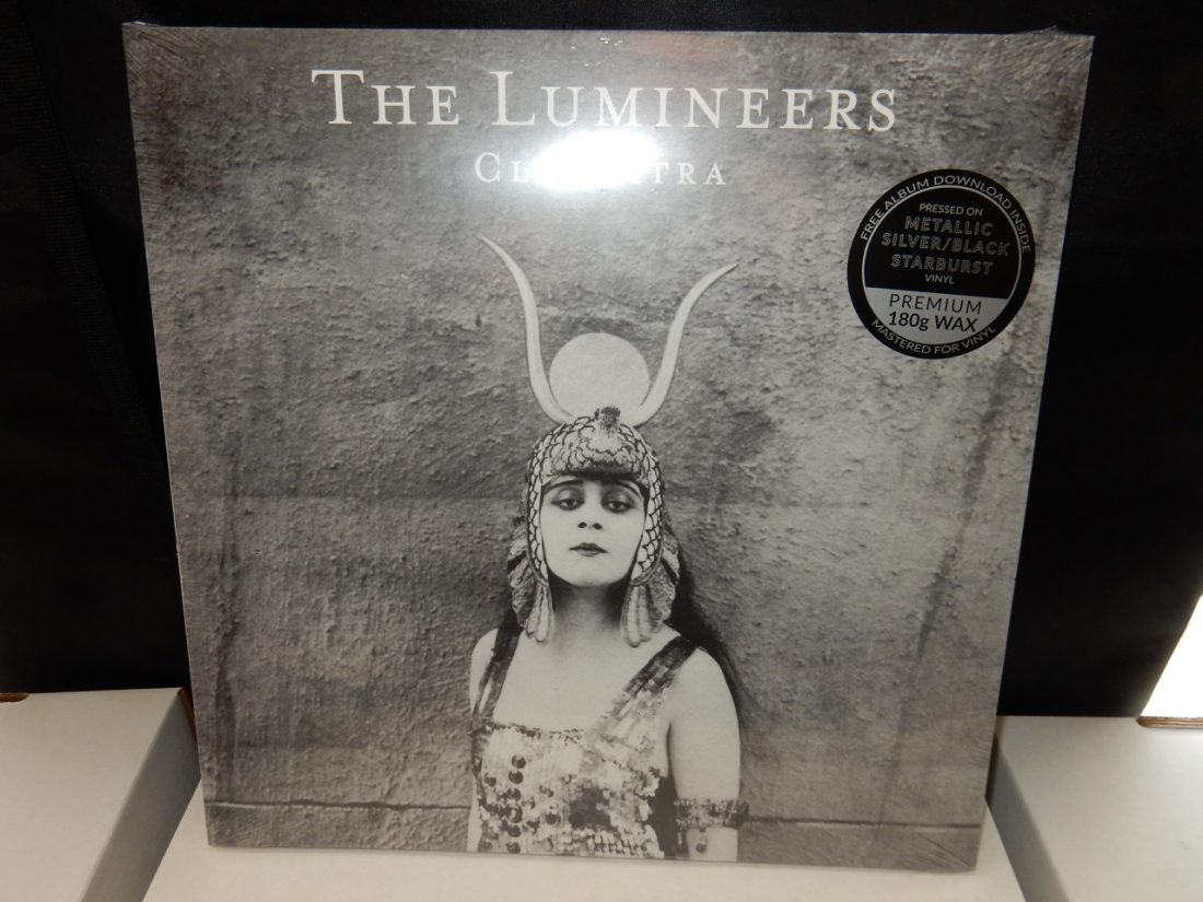 "Lumineers ""Cleopatra"" Exclusive Black and Silver Starburst Colored Vinyl"