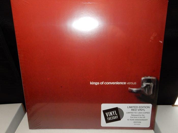 """Kings of Convenience """"Versus"""" Ltd Gatefold 140 Gram Colored Vinyl"""