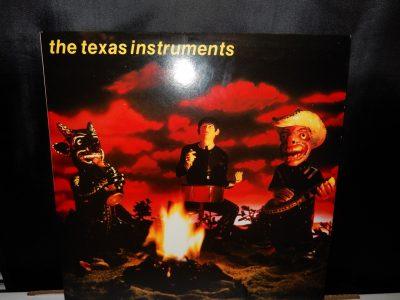 The Texas Instruments (Self titled) Vinyl LP 1987 Rabid Cat Records