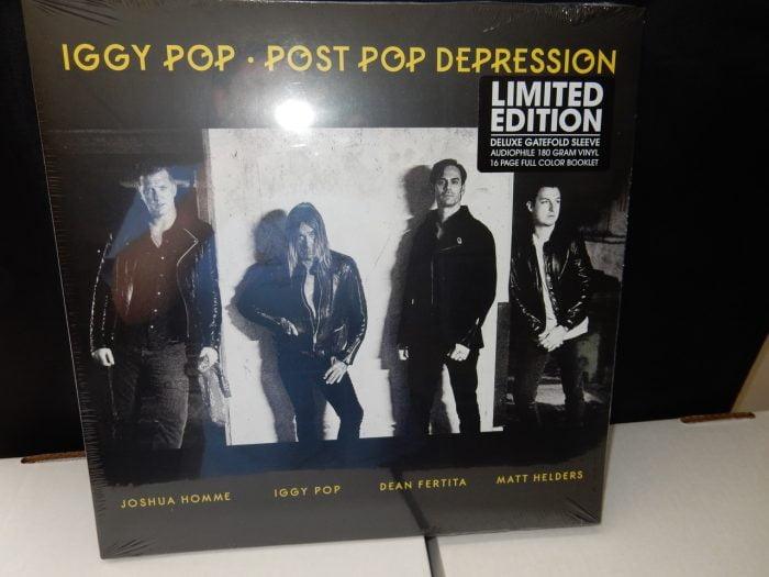 "Iggy Pop ""Post Pop Depression"" Deluxe Gatefold Vinyl LP"
