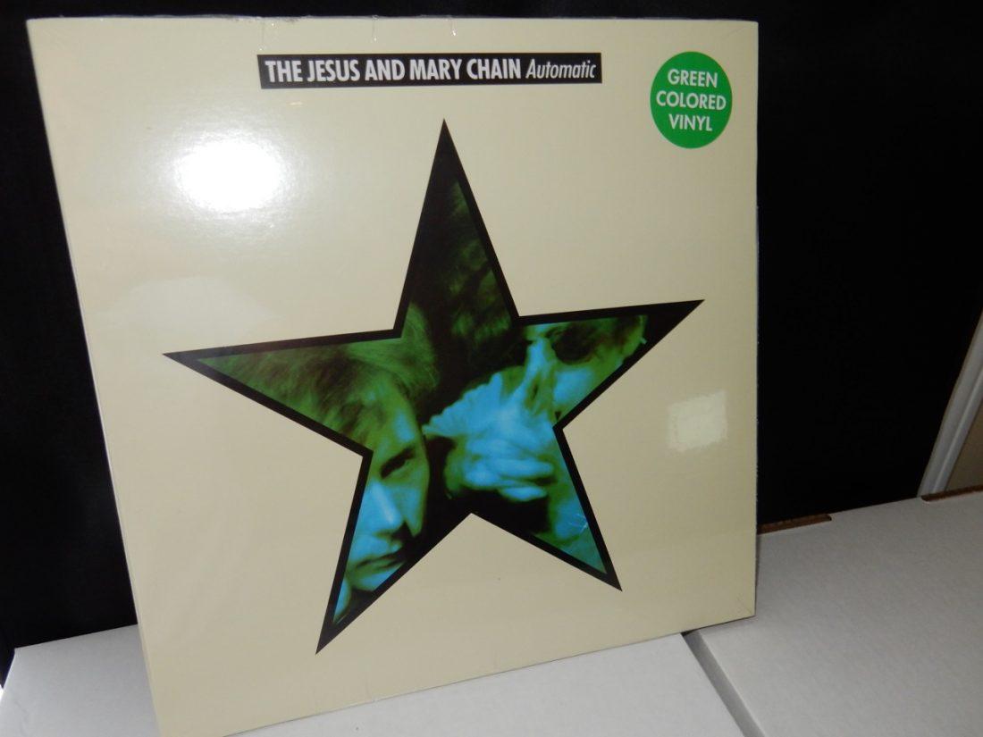 "Jesus & Mary Chain ""Automatic"" Ltd Ed GREEN Colored Vinyl LP Gatefold"