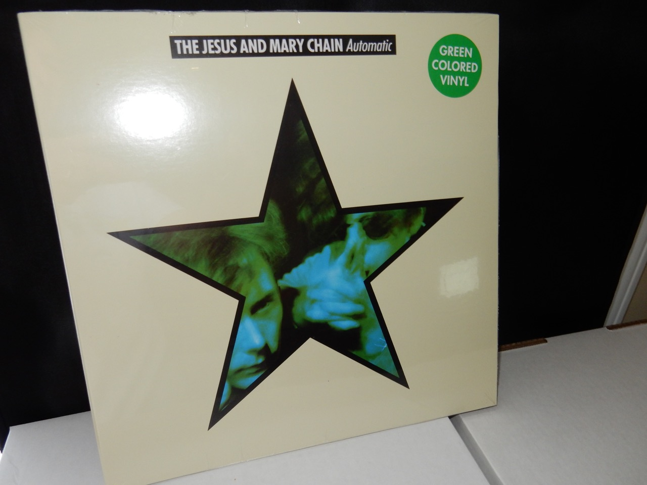 "Jesus & Mary Chain ""Automatic"" Ltd Ed GREEN Colored Vinyl LP Gatefold"