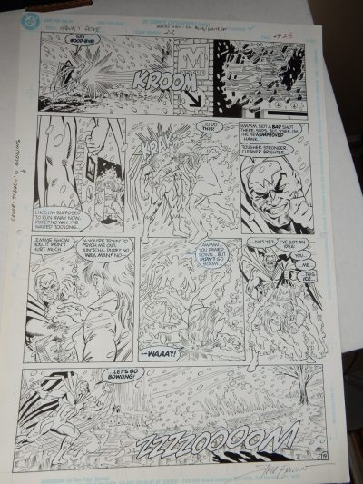 Hawk and Dove #22 page 25 Original Comic Art by Steve Erwin and Scott Hanna