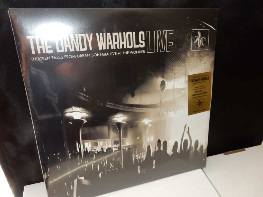 "The Dandy Warhols ""Thirteen Tales From Urban Bohemia Live At The Wonder"" Green Colored Vinyl Ltd Ed"