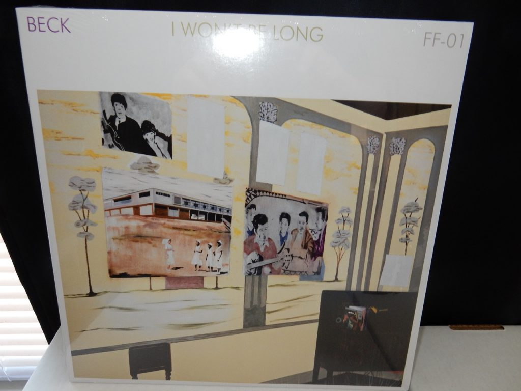 "Beck ""I Won't Be Long"" Ltd Ed 12"" Vinyl Single"