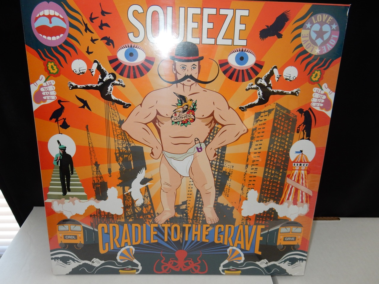 "Squeeze ""Cradle To The Grave"" 2XLP Heavyweight Gatefold Import with Exclusives"