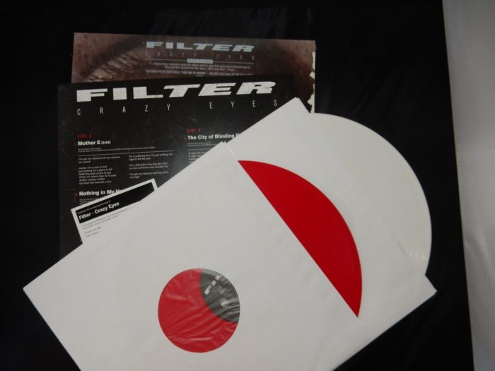Red and White Vinyl