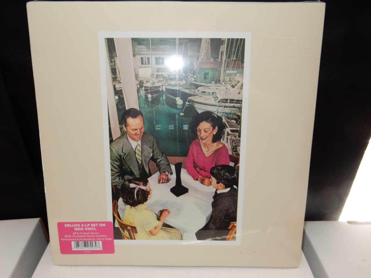"Led Zeppelin ""Presence"" Deluxe Edition, 180 Gram Triple Gatefold"