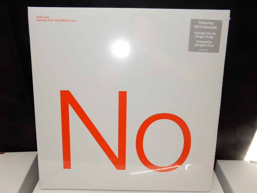 """New Order """"Waiting For The Sirens' Call"""" Remastered 2XLP Vinyl 180 Gram"""