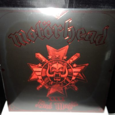 "Motorhead ""Bad Magic"" Red Colored Vinyl 180 Gram with Download"