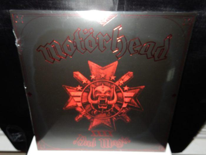 "Motorhead ""Bad Magic"" Red Colored Vinyl 180 Gram with Download"