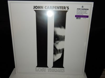"John Carpenter ""Lost Themes II"" Purple and White Swirl Colored Vinyl with Download"