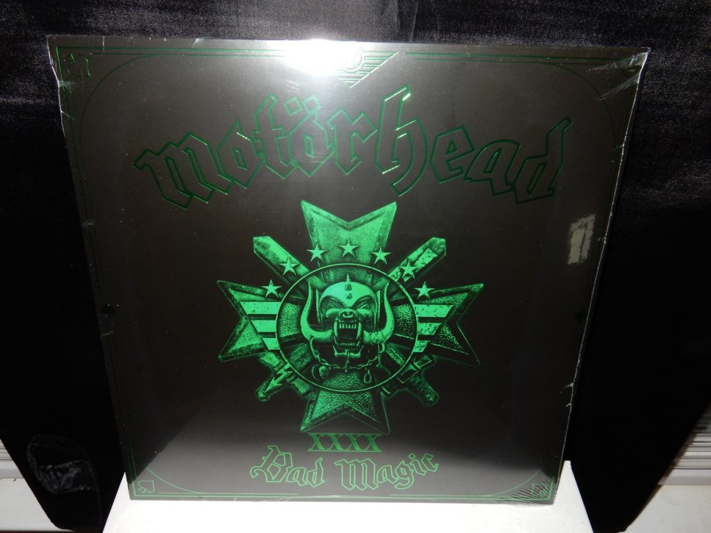 "Motorhead ""Bad Magic"" Green Colored Vinyl 180 Gram with Download"