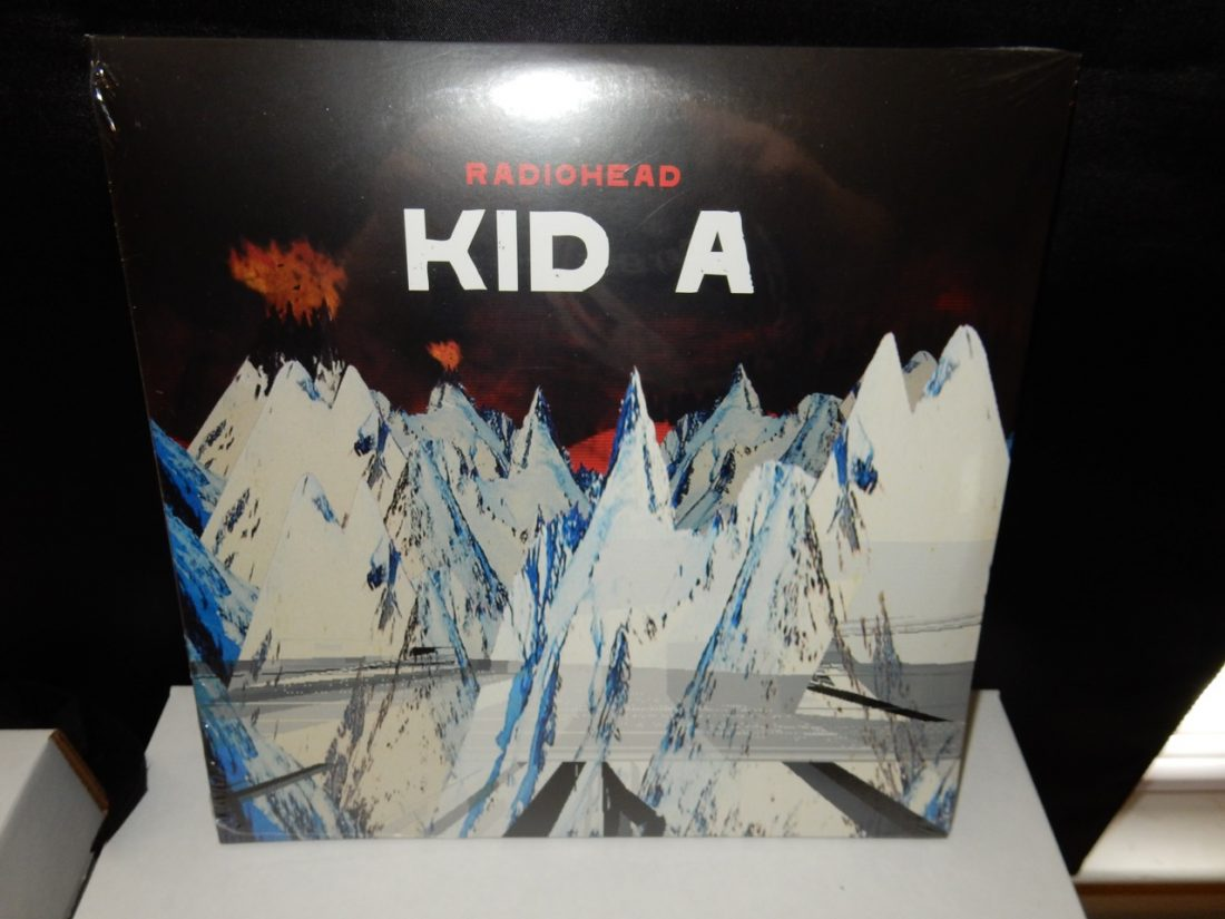 "Radiohead ""Kid A"" 2XLP 10"" 180 Gram Vinyl Reissue XL Recordings 2016"