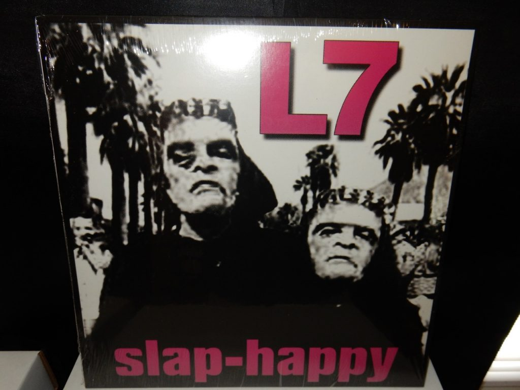 L7 Slap-Happy reissue