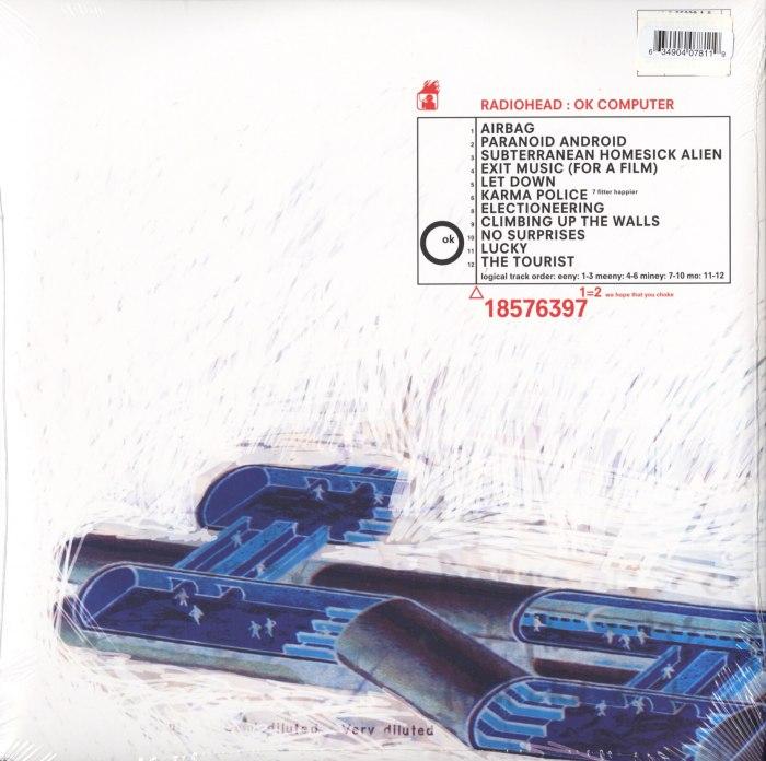Radiohead - Ok Computer- 180 Gram, 2XLP, Double Vinyl, XL Recordings, 2016