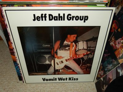 "Jeff Dahl Group ""Vomit Wet Kiss"" 1988 Vinyl LP Sympathy For The Record Industry"