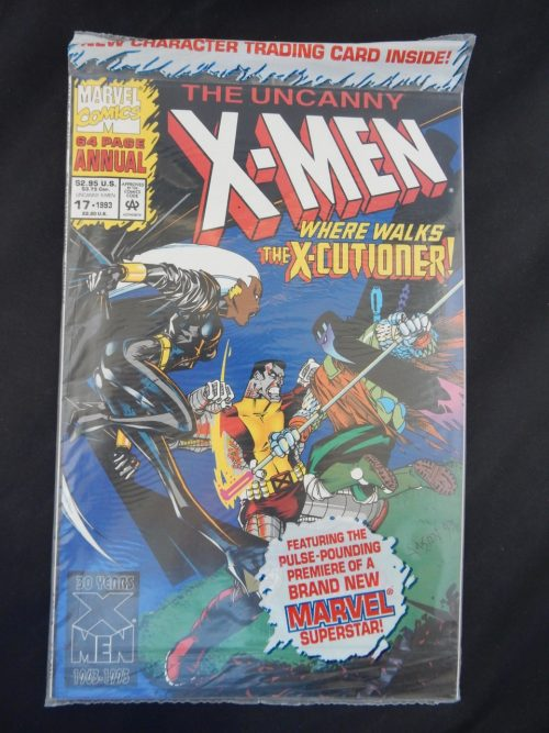 Uncanny X-Men Annual #17 Marvel Comics 1993 Storm Colossus