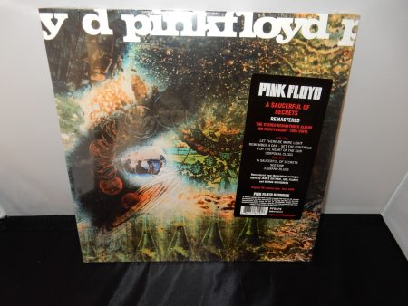 "Pink Floyd ""A Saucerful Of Secrets"" 180 Gram Vinyl Remastered 2016"