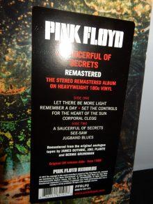 "Pink Floyd ""A Saucerful Of Secrets"" 180 Gram Vinyl Remastered 2016"