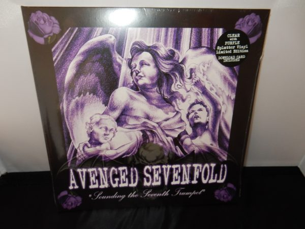 Avenged Sevenfold - Sounding The Seventh Trumpet - Ltd Ed Purple splatter vinyl