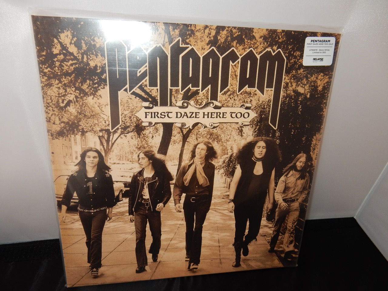 Pentagram First Daze Here Too Reissue On Bone White