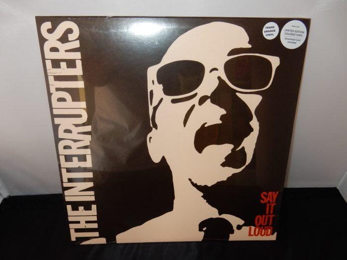 "The Interruptors ""Say It Loud"" Ltd Ed Orange Colored Vinyl"