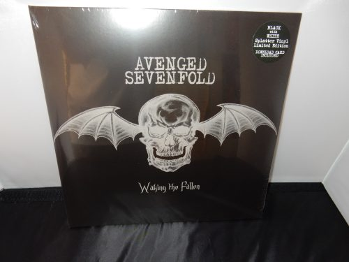"Avenged Sevenfold ""Waking the Fallen"" Ltd Ed 2XLP Black and White Splatter Vinyl"